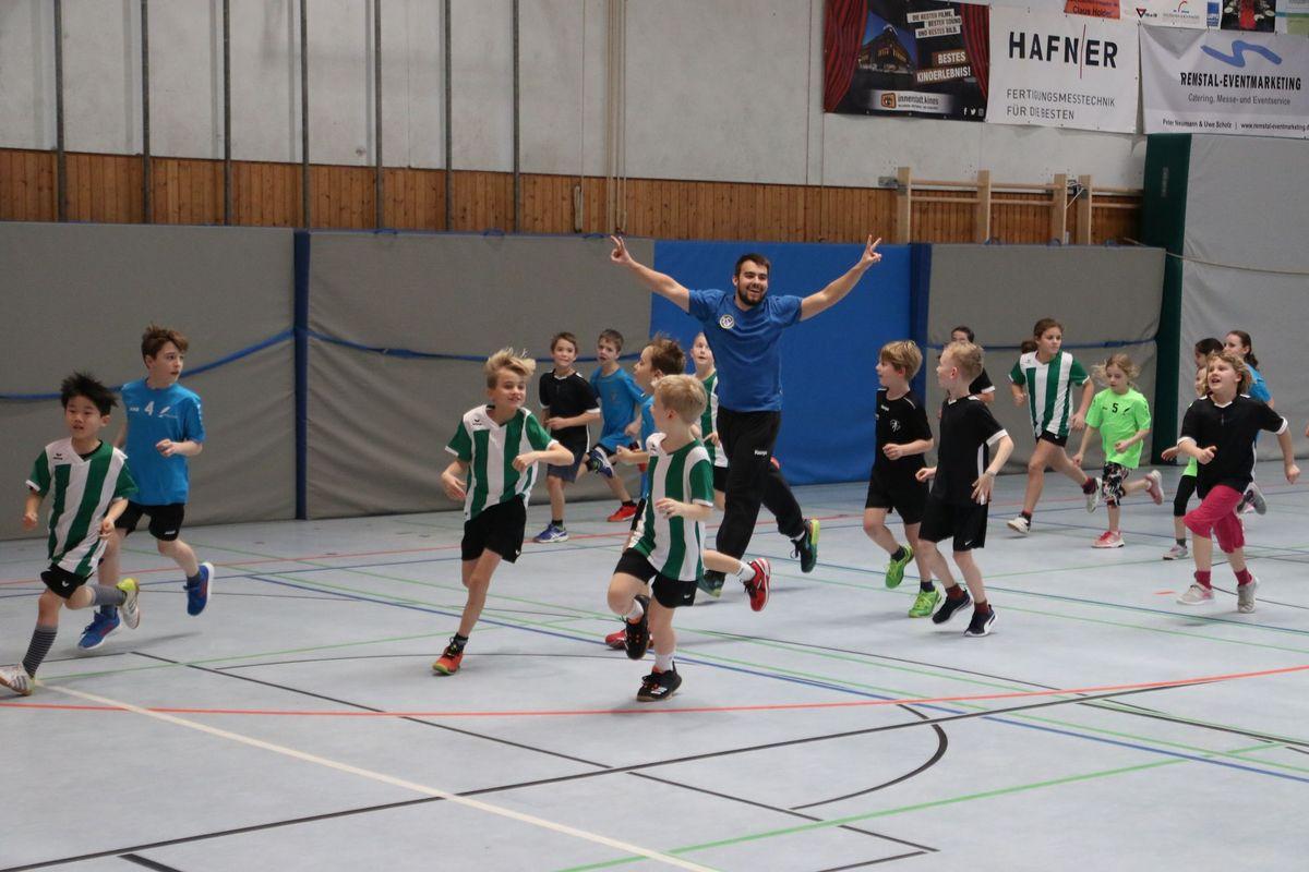Spiele der Gundschulliga am 07.02. in Schmiden