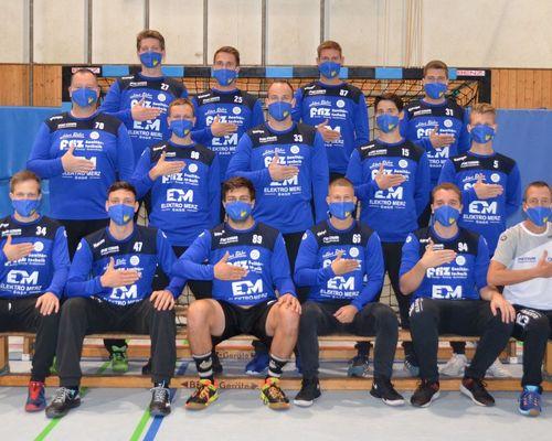 Handballmannschaft spendet für FZ-Aktion 6666